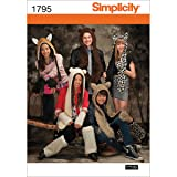 Simplicity 1795 Teen's, Men's and Women's Animal