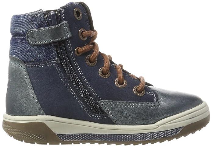Braqeez Rush, Botas para Niños, Azul (Jeans F527), 29 EU