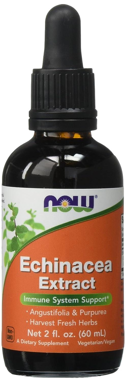 NOW Echinacea Extract Liquid 2 Ounce Image 1