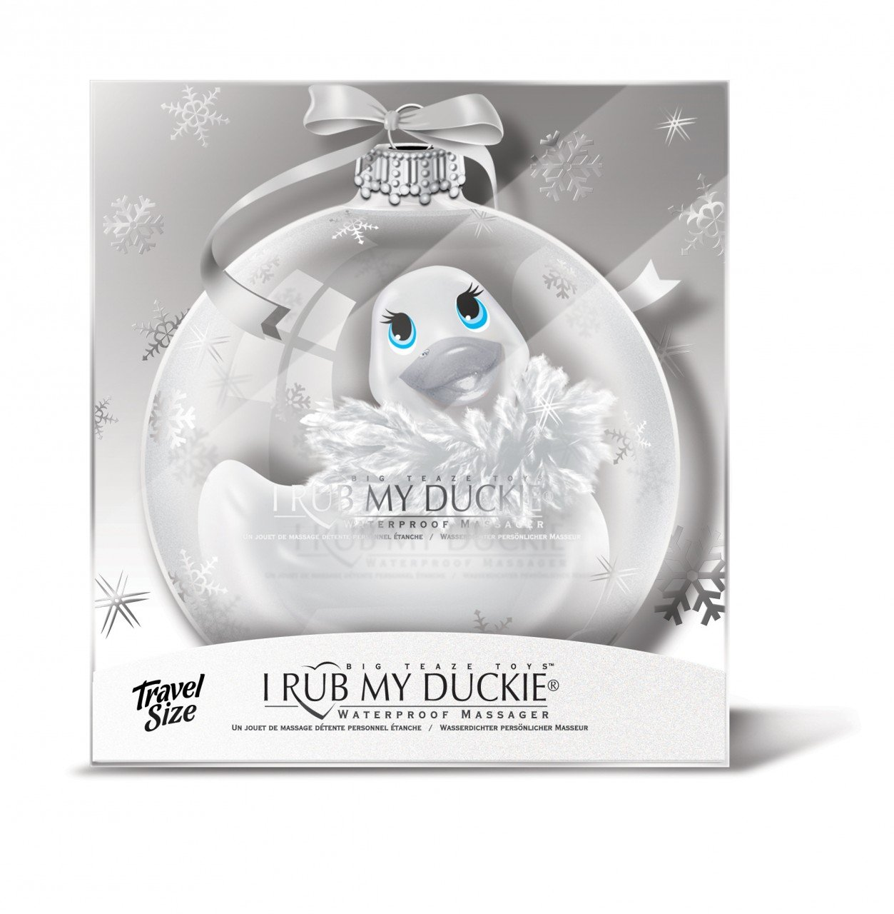 Top Rated - I Rub My Duckie ''Paris'' Travel Size Holiday Ball - Pearl Blanc