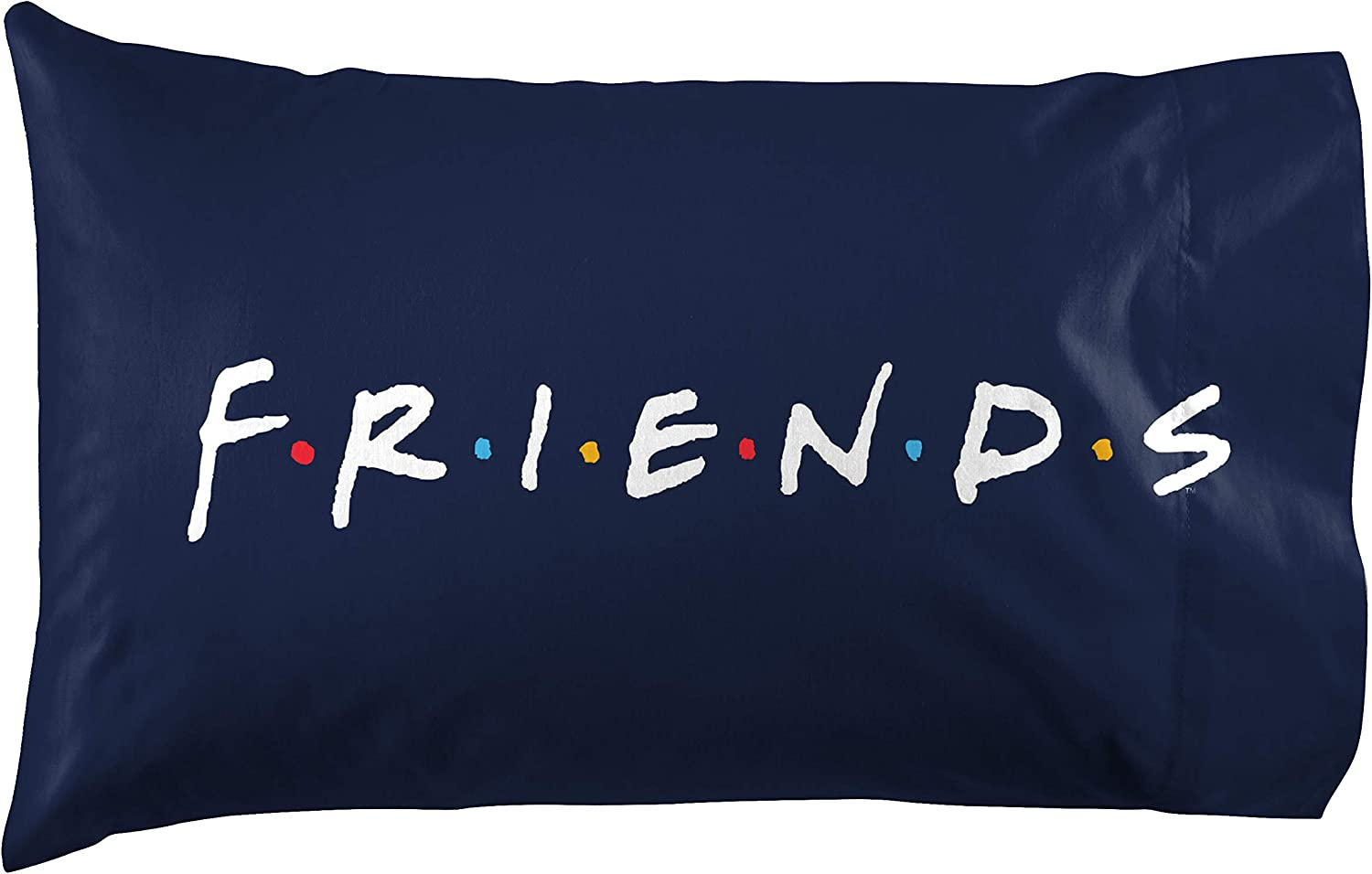 Official Friends Product Jay Franco Friends Catchphrase 2 Pack Reversible Pillowcase Super Soft Bedding