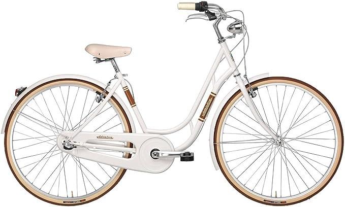 Adriatica - Bicicleta Clasica Danish Nexus 3v Blanco: Amazon.es ...
