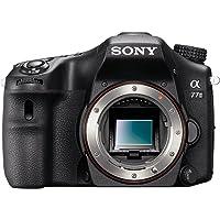 Sony ILCA Alpha 77 II SLR-Digitalkamera Gehäuse (24,3 Megapixel, 7,6 cm (3 Zoll) LCD Display, 12 Bilder,Sek, Full HD, WiFi,NFC, HDMI) schwarz