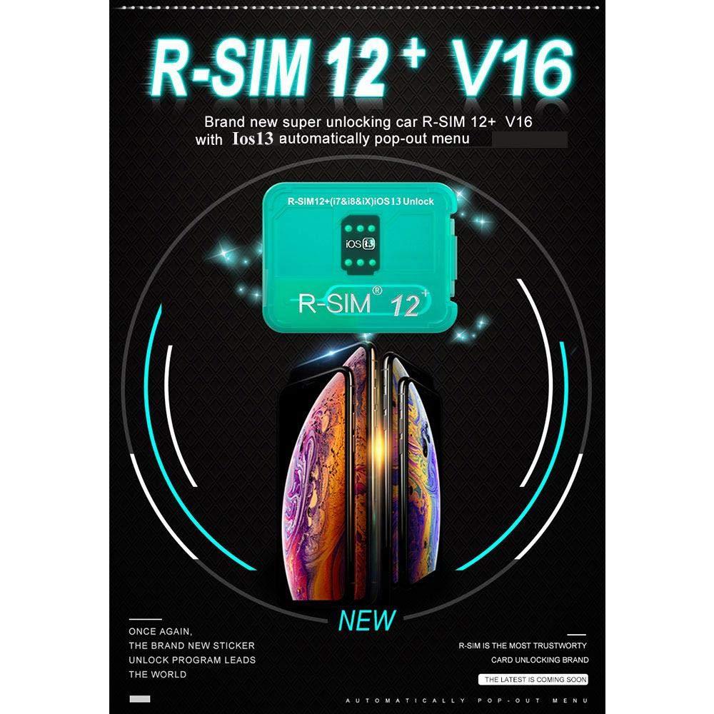 Amazon.com: R-SIM12 V16 - Tarjeta SIM para iPhone XS/X/6/7/8 ...