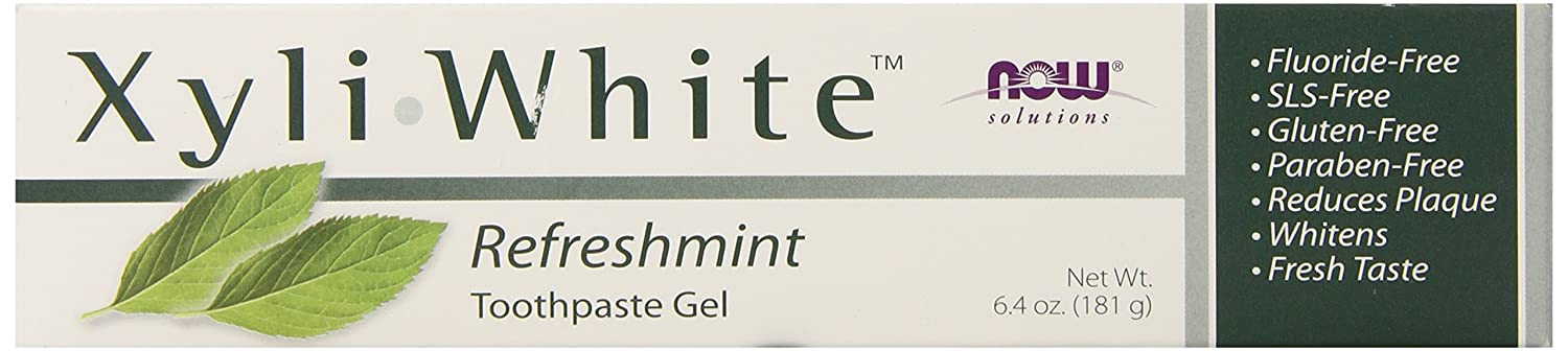 NOW SolutionsXyliWhite Refreshmint Toothpaste Gel,6.4-Ounce