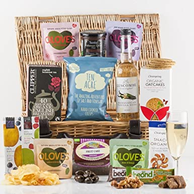 Natures Hampers Vegetarian Treat Gift Hamper