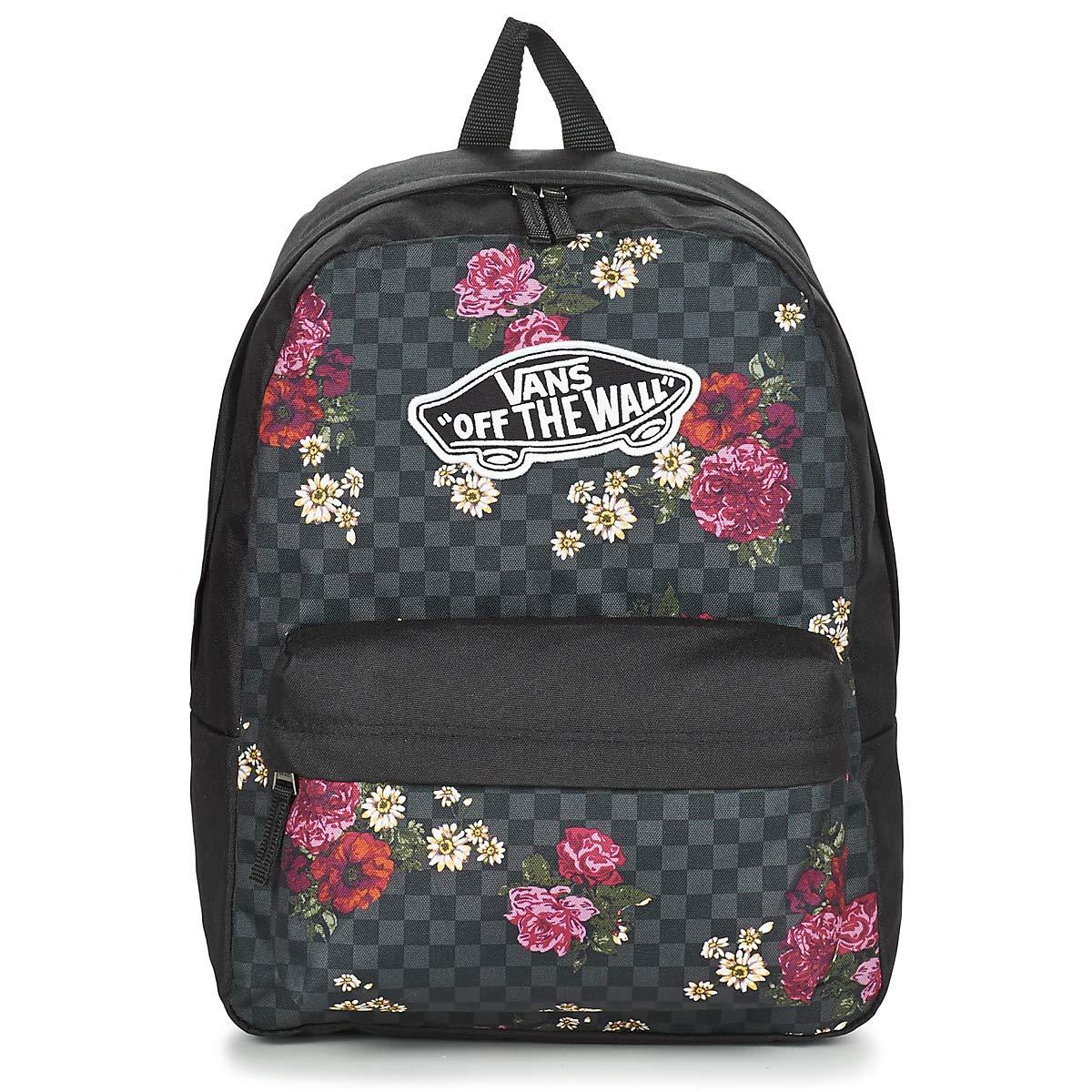 VANS Realm Backpack- Botanical Check VN0A3UI6UWX1