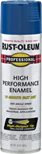 Rust-Oleum 7527838 Professional High Performance Enamel Spray Paint, 15 oz, Royal Blue