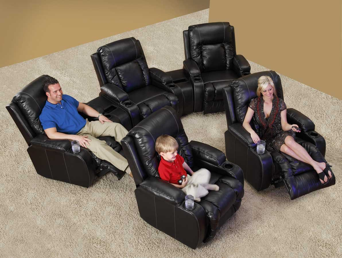 & Amazon.com: Top Gun Media Home Theater Recliner: Kitchen u0026 Dining islam-shia.org