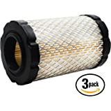 3-Pack Replacement Briggs & Stratton 591334 Air Filter Cartridge - Compatible Briggs & Stratton