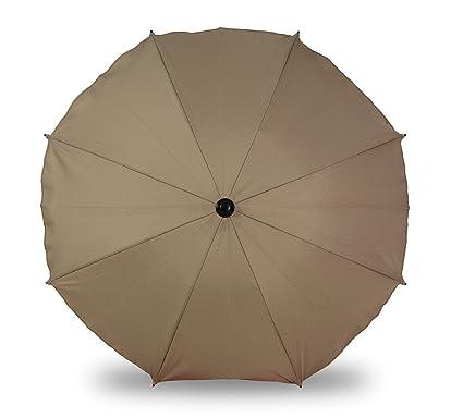 Universal sombrilla paraguas para carrito y Sport Buggy, pantalla para cochecito de bebé con soporte universal, UV schutz50 + toldo Protección Solar ...