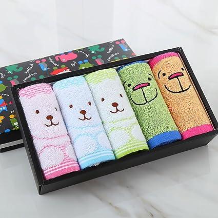 Toallas CHENGYI Microfibra Infantil de algodón Puro Hogar de Dibujos Animados Lindo Absorbente Suave y cómoda