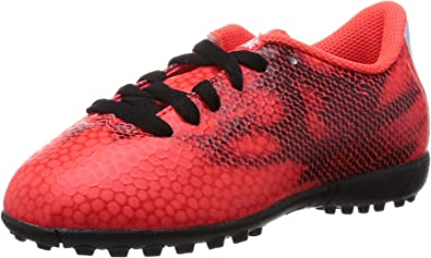 Amazon.com: Boys adidas F5 Red Black