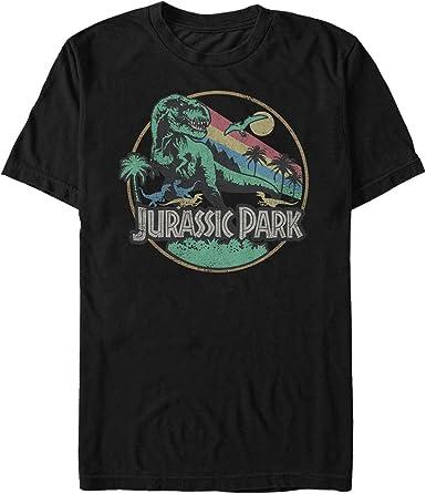 Jurassic World Rainbow Dinosaurs Girls Graphic T Shirt