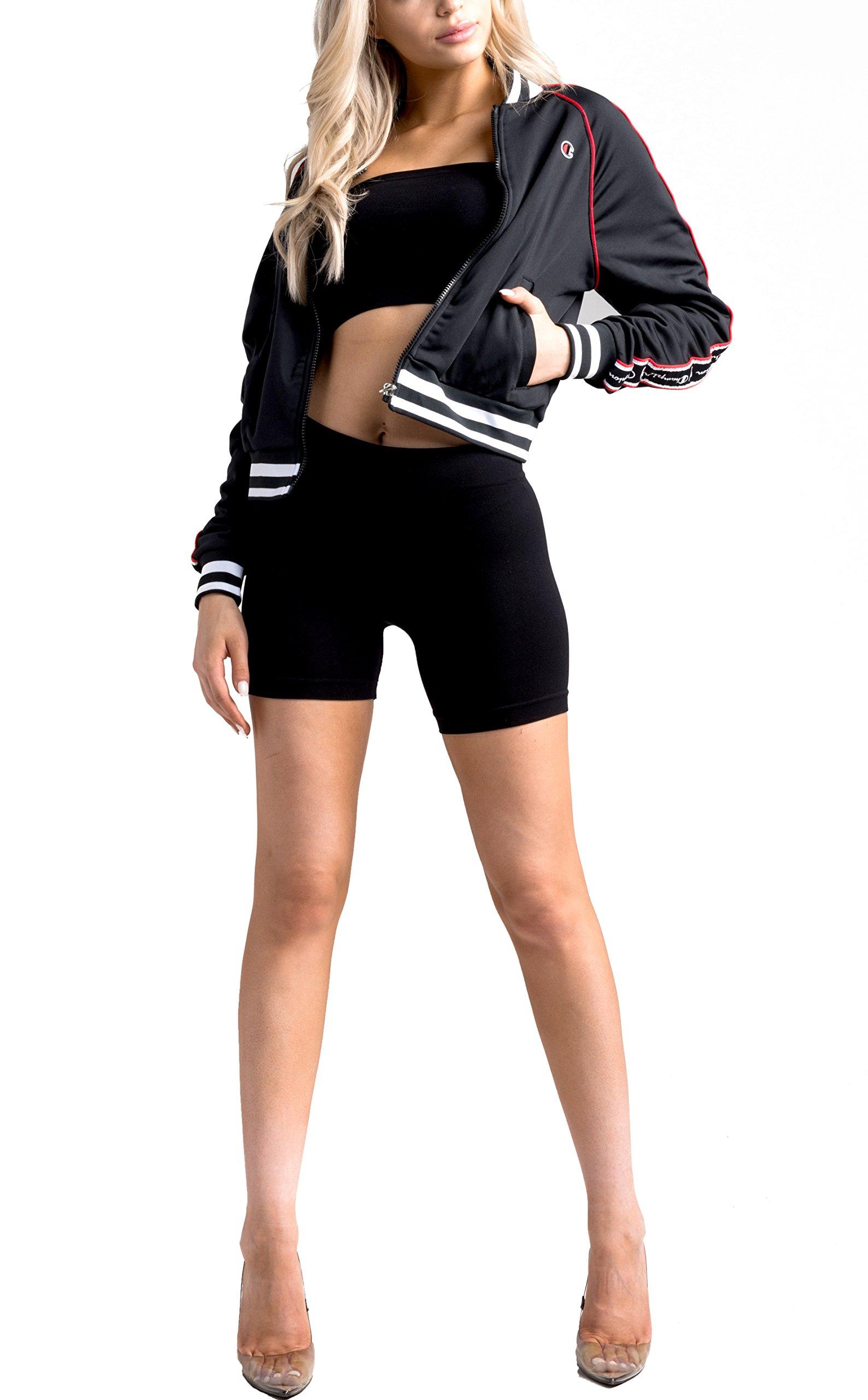 Champion LIFE Women's Track Jacket, Black, XS