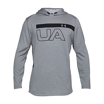 d402faec46 Under Armour MK1 Terry Graphic Hoodie Men s Warm-up Top  Amazon.co ...