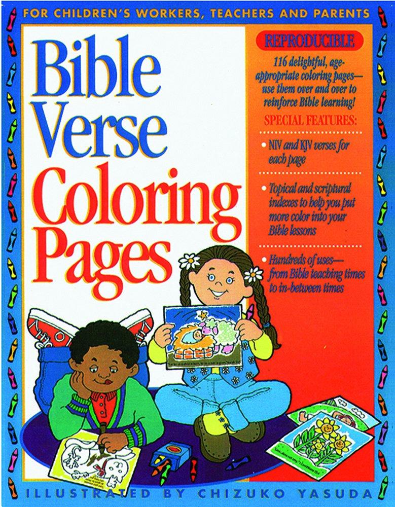 - Bible Verse Coloring Pages 1: Gospel Light: 9782511606728: Amazon.com: Books