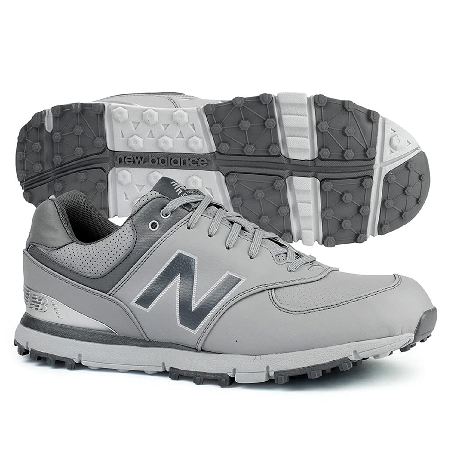 NEW BALANCE NB574 SL GOLF SHOES NBG574GRS ゴルフシューズ [並行輸入品] B0776VTW4M 25.0cm(MENS 7.0(D))