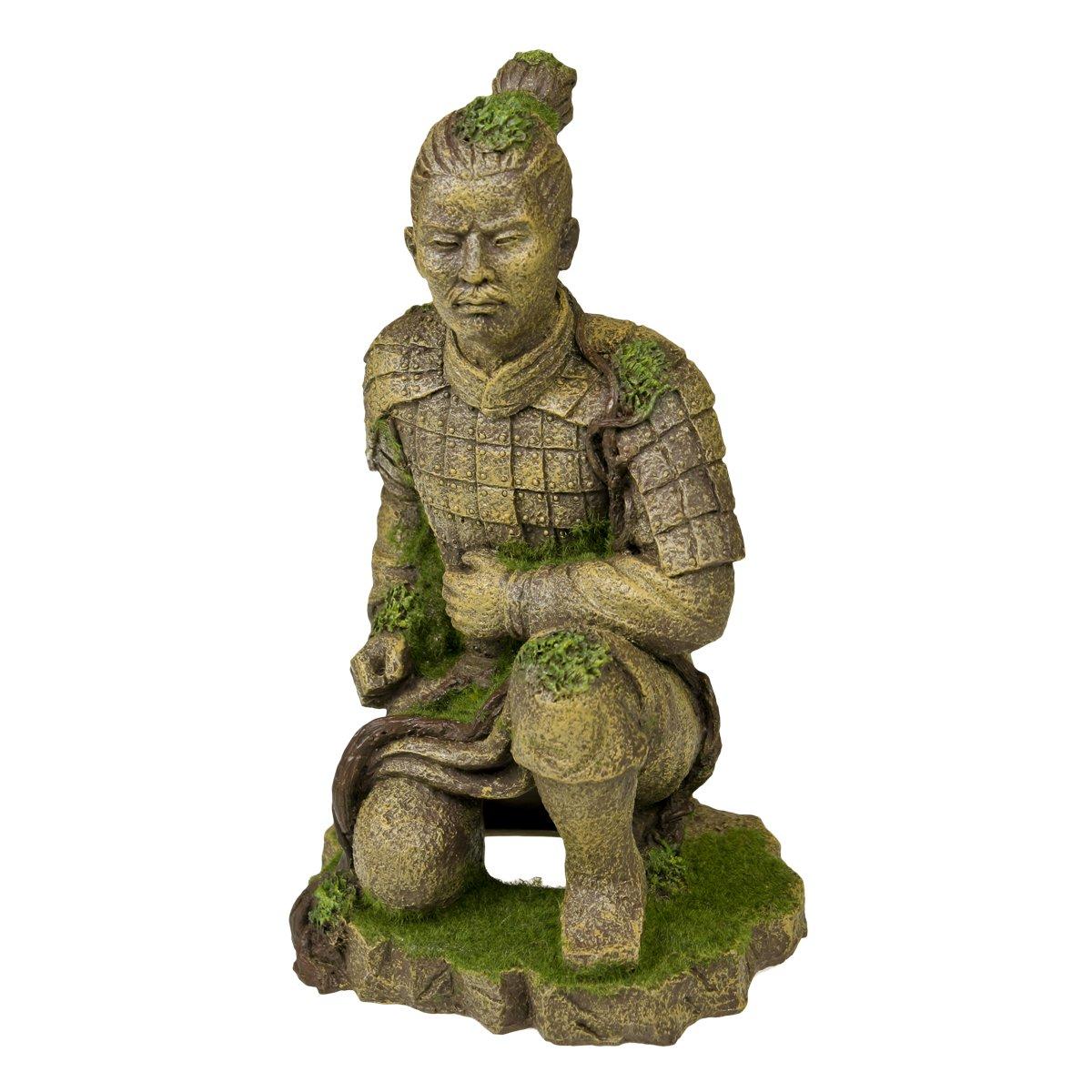 blu Ribbon 006161 Exotic ambienti Qing Dynasty statua in terracotta