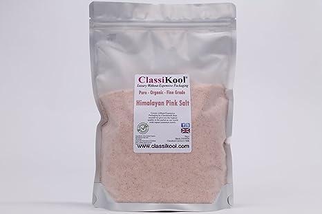 Classikool ingredientes 1 kg bañera Bomb – ácido cítrico, Epsom sales, bicarbonato de sodio