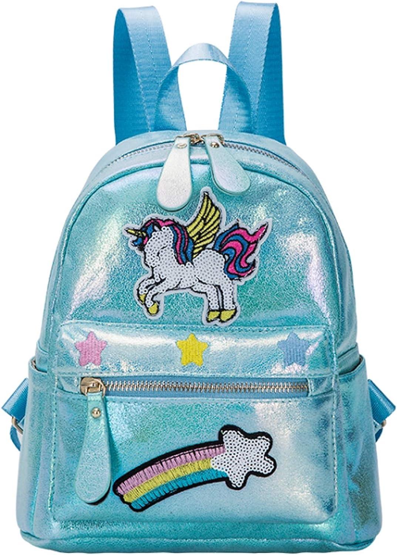 Toddler Mini Bag Shiny Rainbow College Fashion Accessory Women Cute Love It Buy It Teens Cool Uni School Star Blue Female Children Girls Unicorn Backpack Kids
