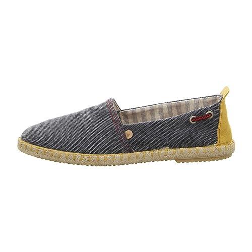VERBENAS 075cc-0017-0012 - Mocasines de Tela para Hombre, Color Azul, Talla 43: Amazon.es: Zapatos y complementos