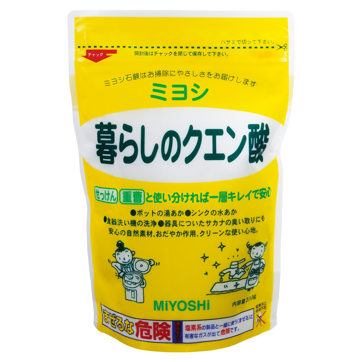 暮らしのクエン酸 330g product image