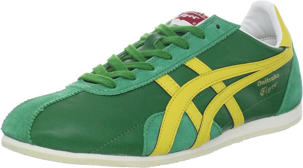 buy online 141ca 8f142 ASICS Onitsuka Tiger Runspark LE Shoe,Green/Yellow,13 M US ...