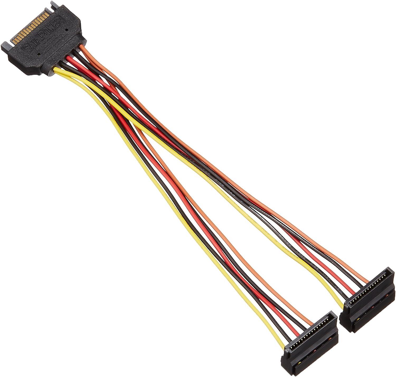 AINEX bifurcated Power Cable for Serial ATA S2-1504SAB 15cm