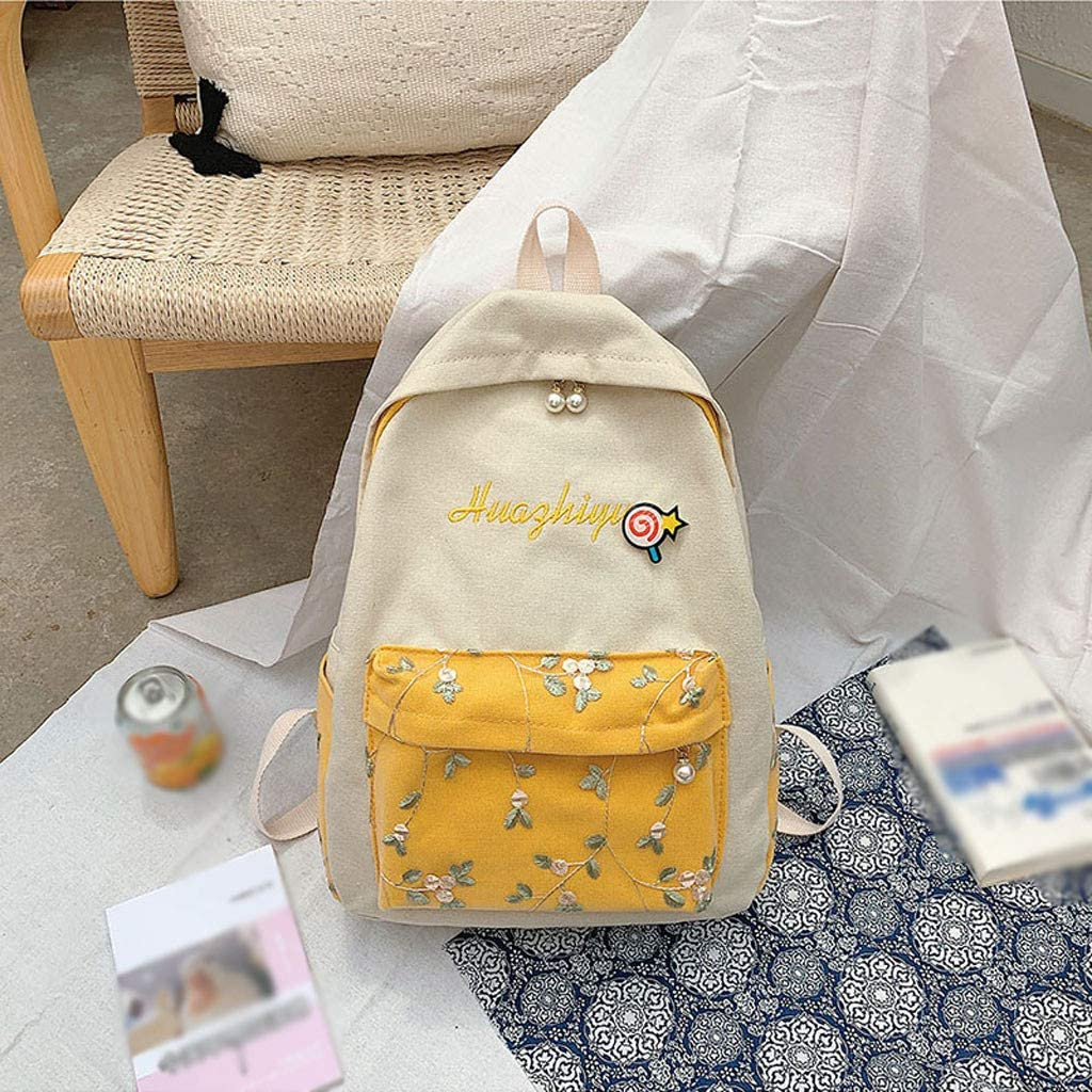 Backpack For Women New Lace Face Small Fresh Flower Student Bag Female Tide Large Capacity