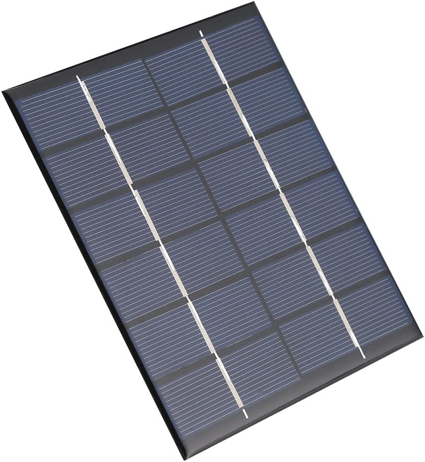 6V 330mA Outdoor Solar Panel 2W mini Smart Power Supply DIY Battery Charger