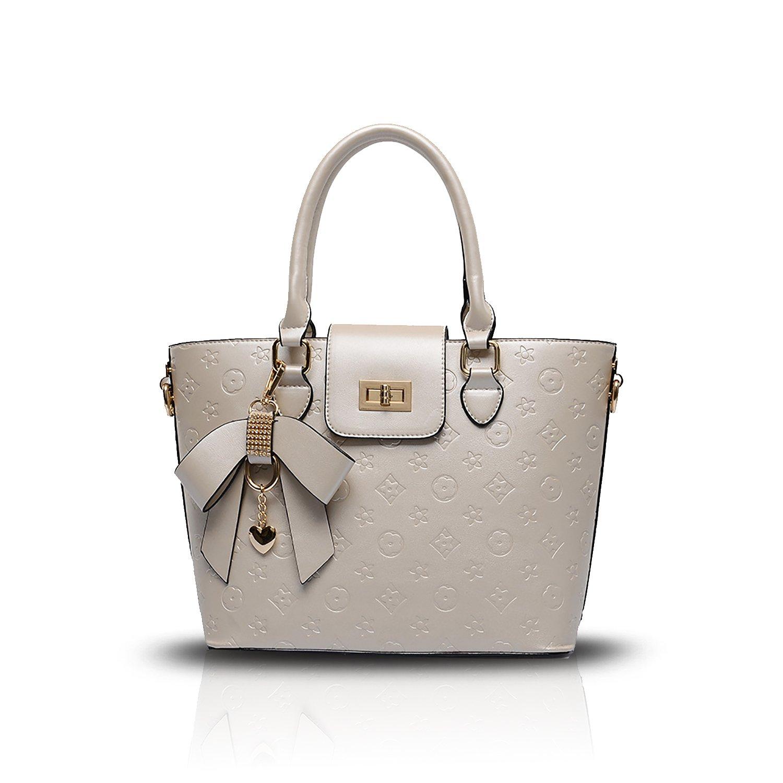 Sdinaz 2018 new women's handbag fashion shoulder Messenger bag PU embossed wallet