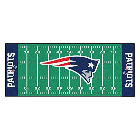 Amazon.com: 30x72 NFL Patriots Rug Football Field Runner xl ...