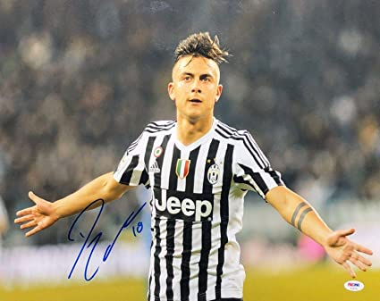 new style 2d107 681a4 Paulo Dybala Signed 16x20 Soccer Photo *Juventus AE46759 ...