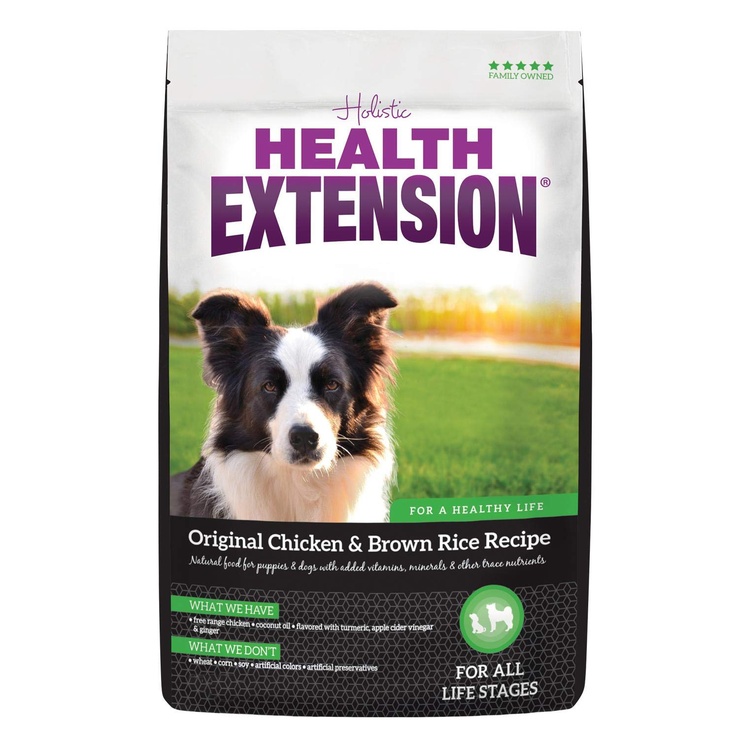 Health Extension Original Dry Dog Food - Chicken and Brown Rice Recipe by Health Extension