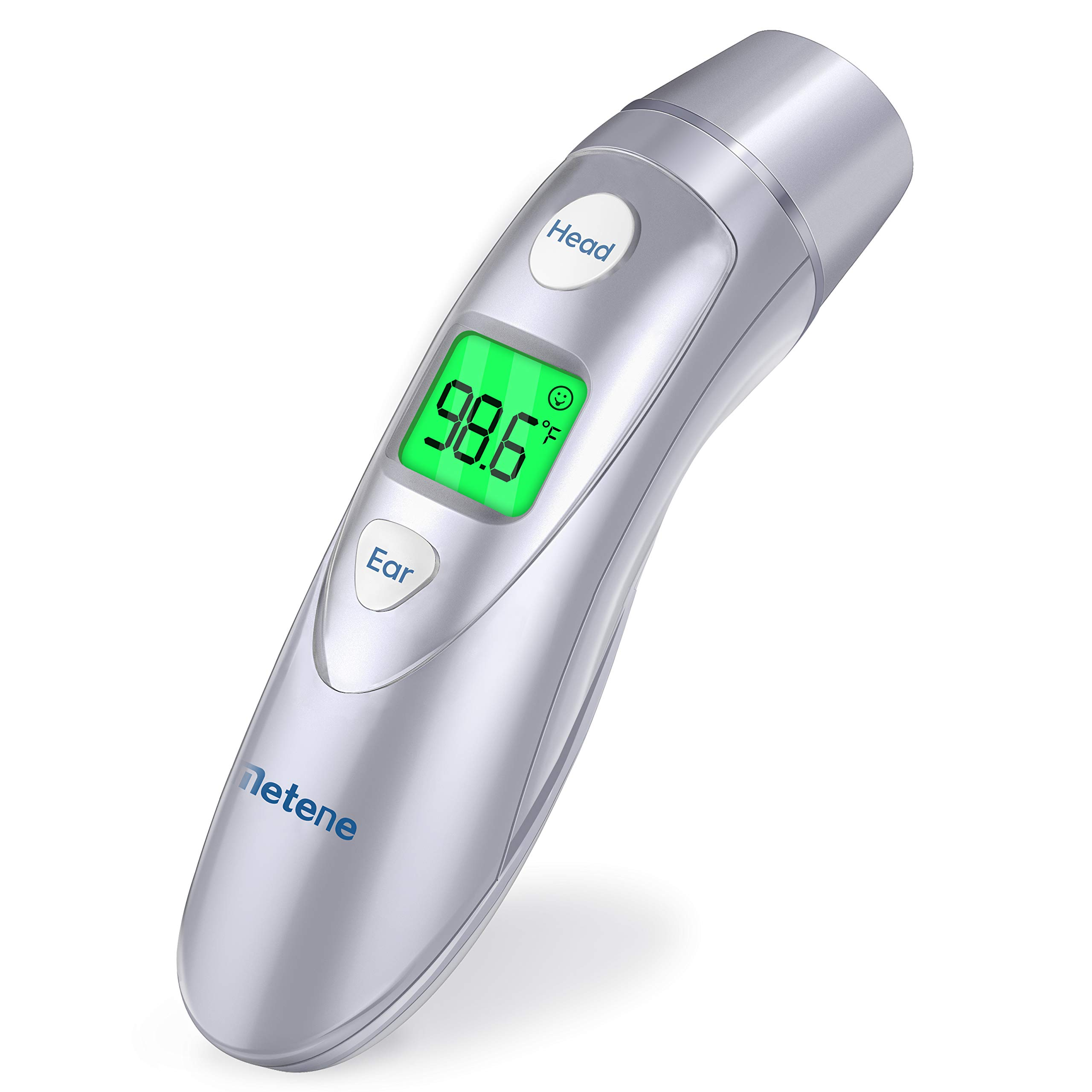 Metene Medical Forehead and Ear Thermometer,Infrared Digital Thermometer Suitable