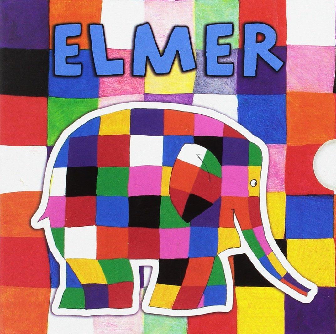 Estuche Elmer «Todo cartón»: (Los amigos de Elmer | Elmer y ...