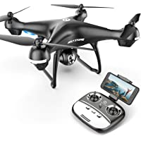 Holy Stone HS100G Drone with 1080p HD Camera and GPS Return Home Function RC Quadcopter (Black)