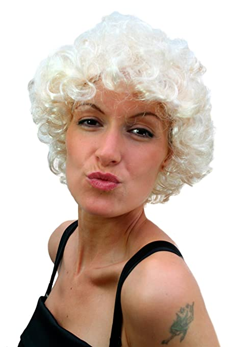 WIG ME UP - Peluca para fiestas, rubia, look Marilyn Monroe TH32