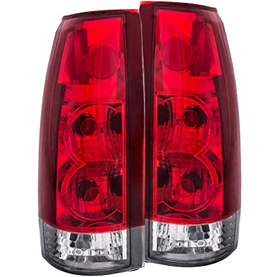 Anzo USA 211140 Cadillac/Chevrolet/GMC Red/Clear G5 Tail Light Assembly - (Sold in Pairs): Automotive
