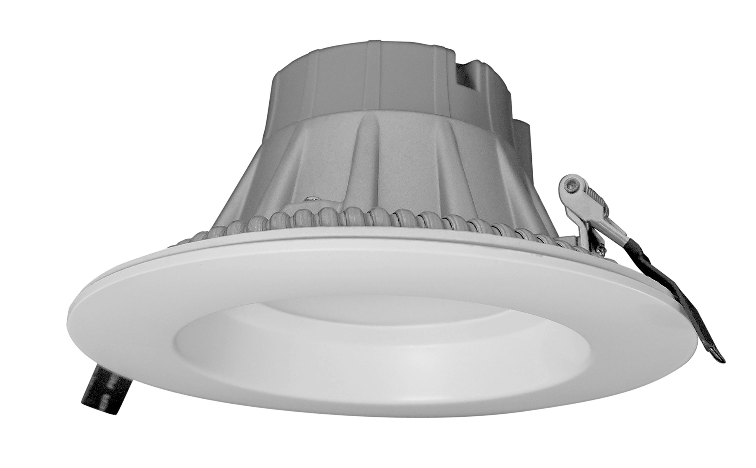 NICOR Lighting Dimmable 3000K Commercial LED Recessed Downlight Retrofit Kit, White (CLR6-10-UNV-30K-WH)