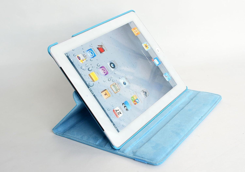 Rotatif Support Stylet inShang Coque Compatible avec iPad Housse 9.7 Coque iPad 2018//2017// air//air 2 /Étui Case avec Veille//R/éveil