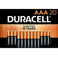 Duracell - CopperTop AAA Alkaline Batteries - long lasting, all-purpose Triple A battery for household and business - 20 Count