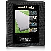 Keeswin 31.5in x 50ft Heavy Duty Garden Weed Barrier, Garden Landscape Fabric Weeds Control for Flower Bed, Mulch…
