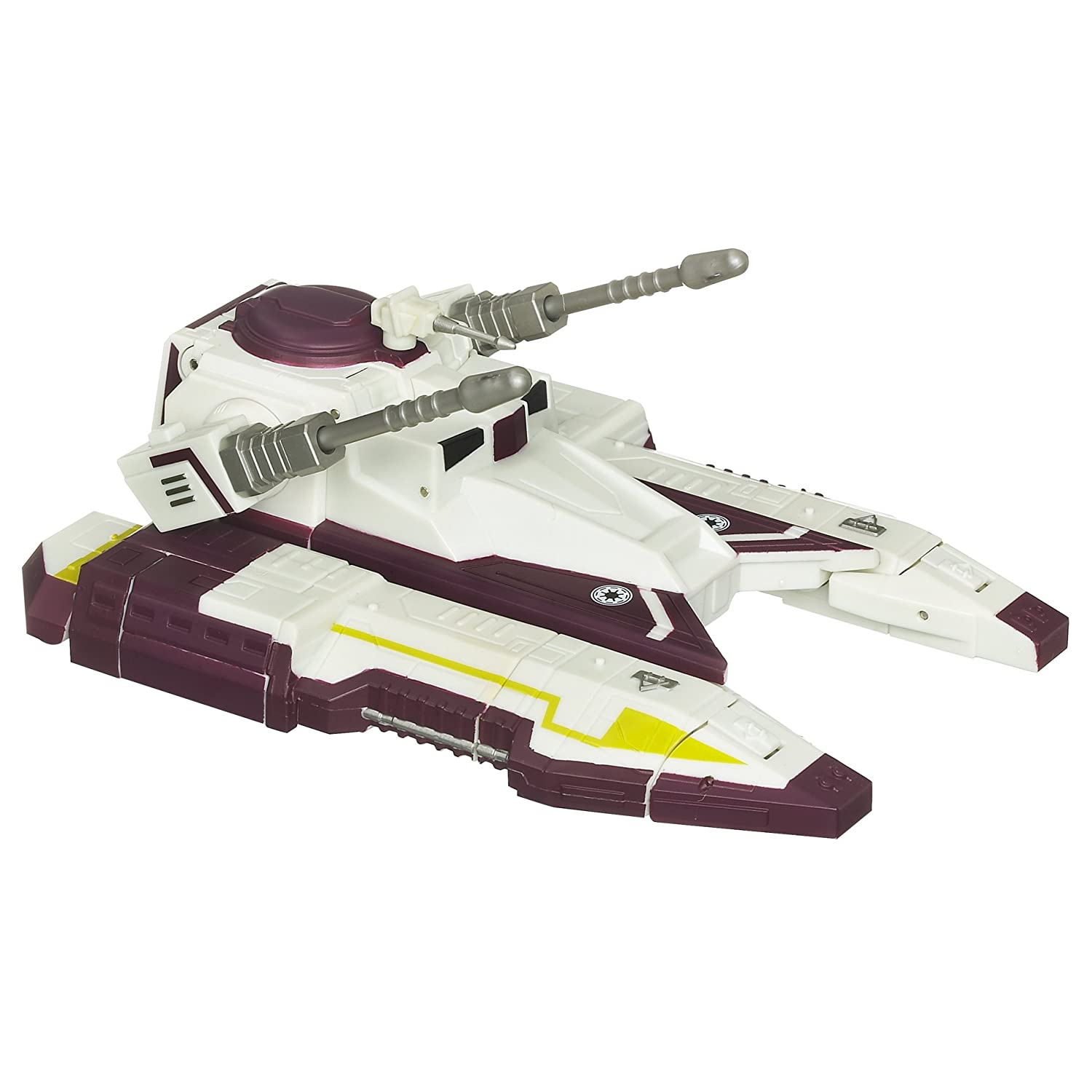 Star Wars Transformers Credvers Clone Gunner to Republic Fighter Tank