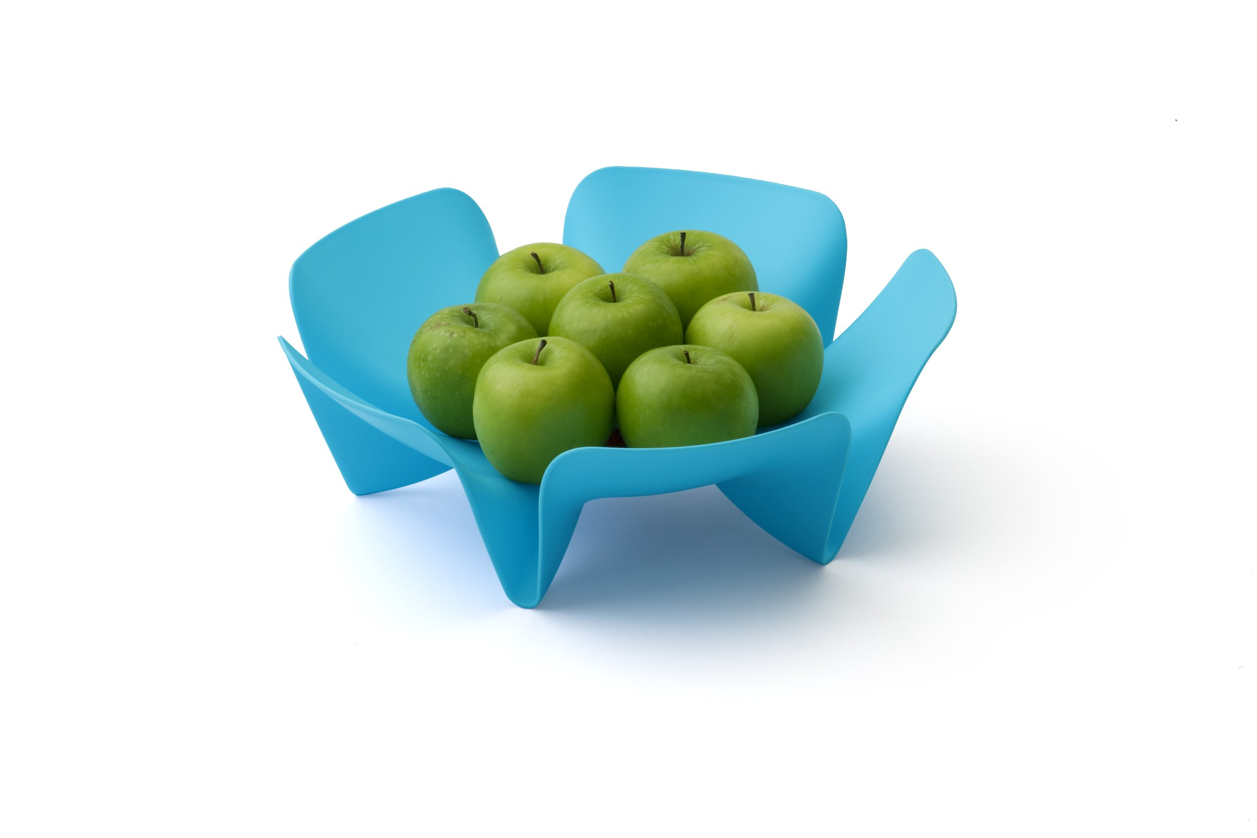 Qualy Flower Fruit Tray Blue by Qualy (Image #2)