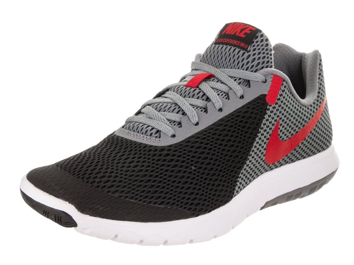 NIKE Men's Flex Experience RN 6 Running Shoes B06X3VJ6TY 9.5 D(M) US|Black / University Red-cool Grey