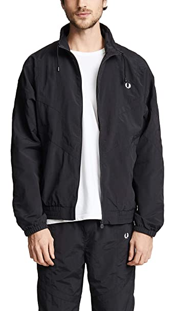 Fred Perry Mens Monochrome Shell Jacket: Amazon.es: Ropa y ...