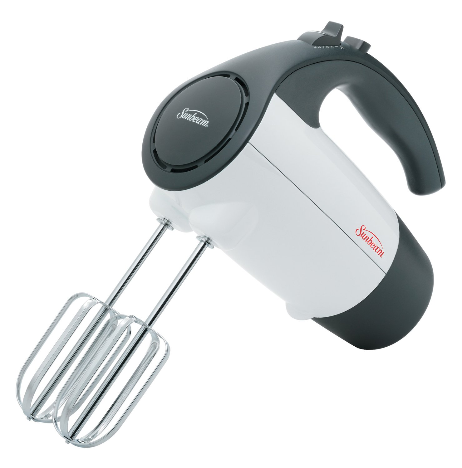 Sunbeam 6-Speed 200 Watt Hand Mixer, White 2524-33