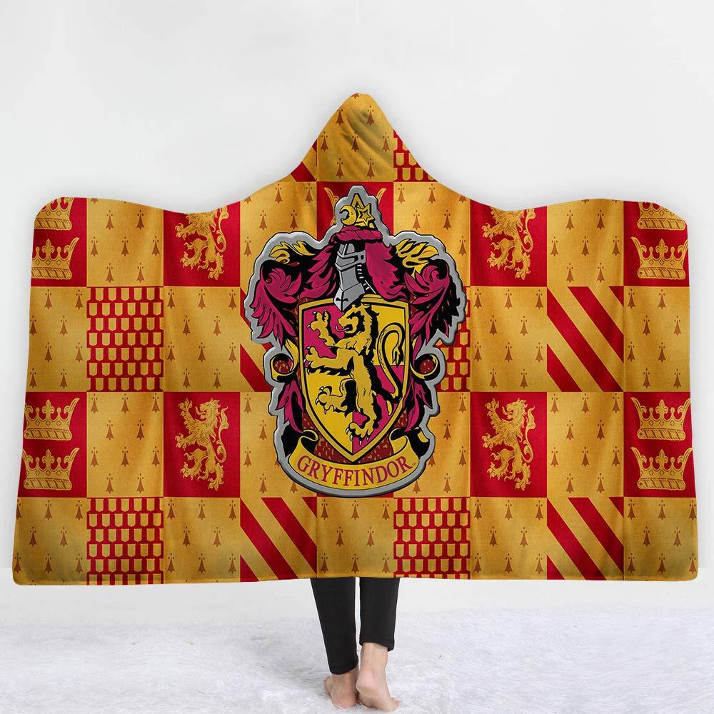 Coperta da Mantello con Cappuccio Stampato YHMT002-1 150 WFSK Asciugamano da Bagno con Mantello Caldo in Peluche con Motivo 3D Serie 130cm Telo da Bagno con Cappuccio per Bambini per Adulti